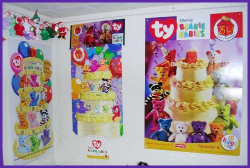 2004 Teenie Beanie display